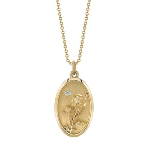 June Birth Flower Charm