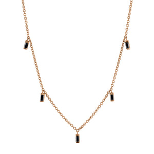LULU BAGUETTE NECKLACE