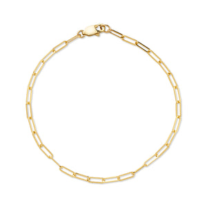 STAPLE CHAIN BRACELET