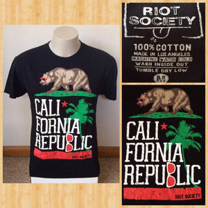 Adults M Riot Society Cali Calfornia Republic