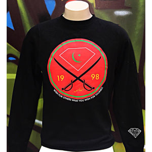 Adults S Diamond Supply Co. Victory Swords CrewNeck Sweatshirt