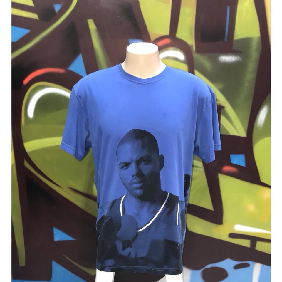 "Adults L Nike Charles Barkley ""Behind The Mic T - Shirt"