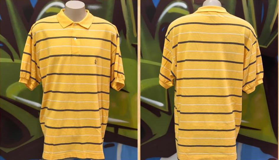 Adults 2XL Nautica Short Sleeve Stripe Polo Shirt