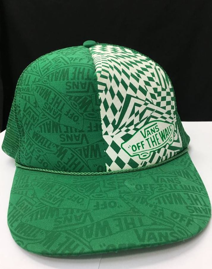 "Vans ""Off the Wall"" Mesh Adjustable Truckers Cap"