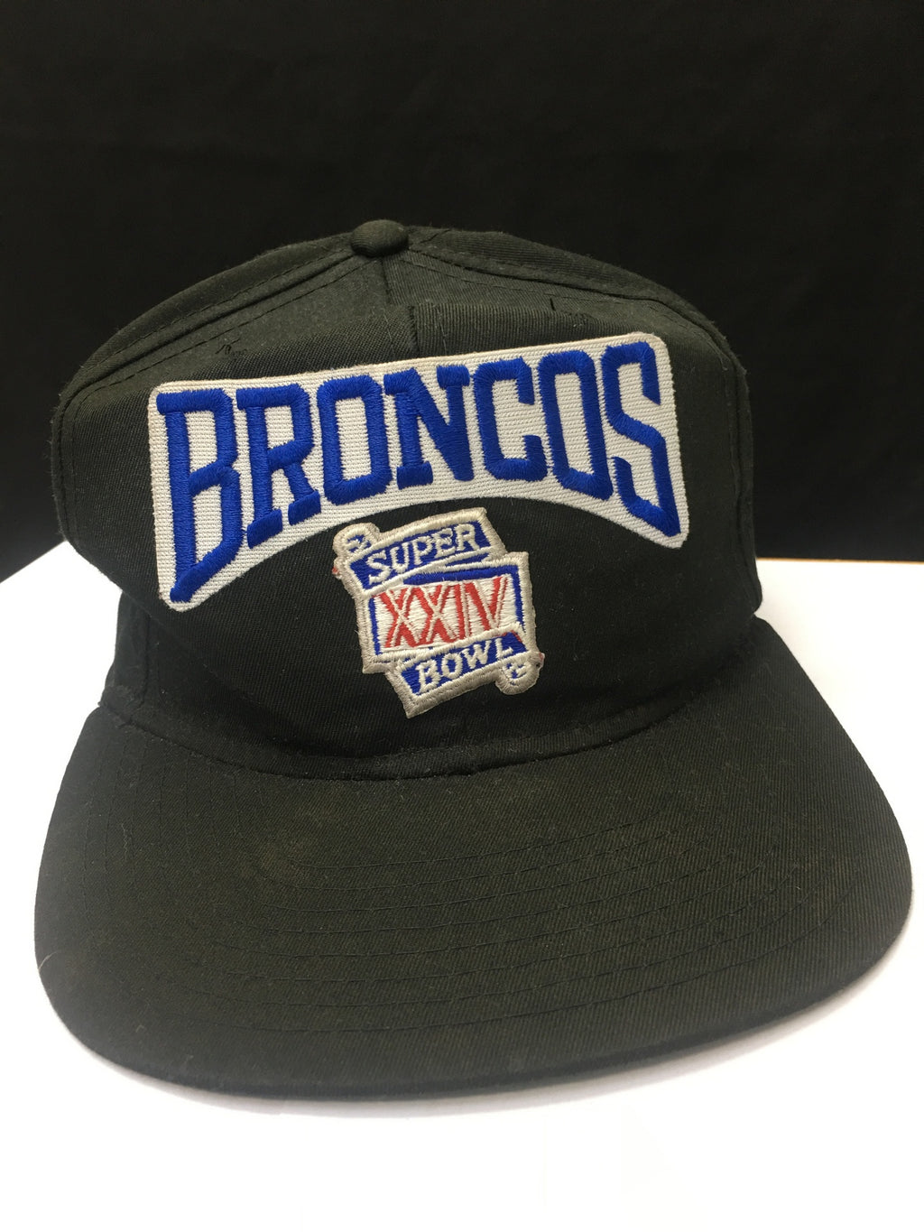 Vintage Broncos XXIV Superbowl New Era Adjustable Cap