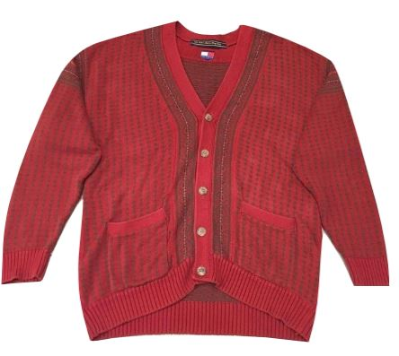 Adults XL Tommy Hilfiger Button Up Cardigan