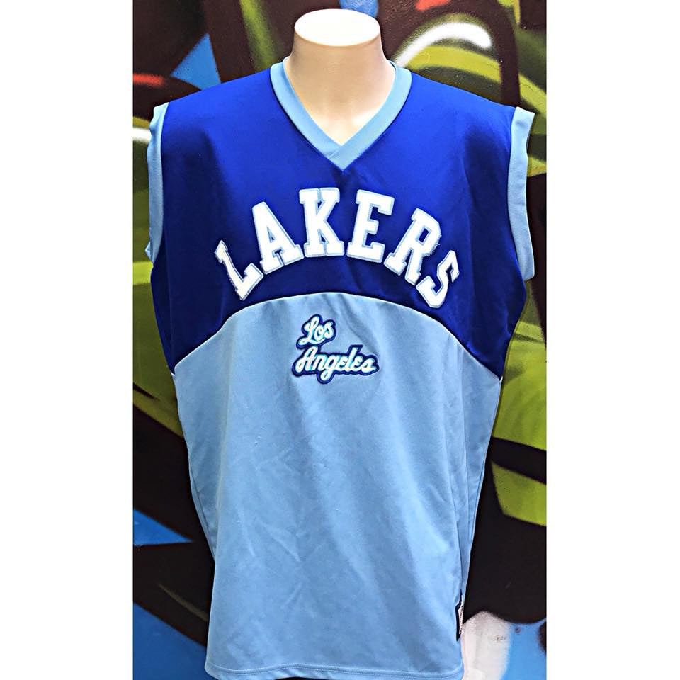 Adults 2XL Hardwood Classics Los Angeles Lakers Jersey
