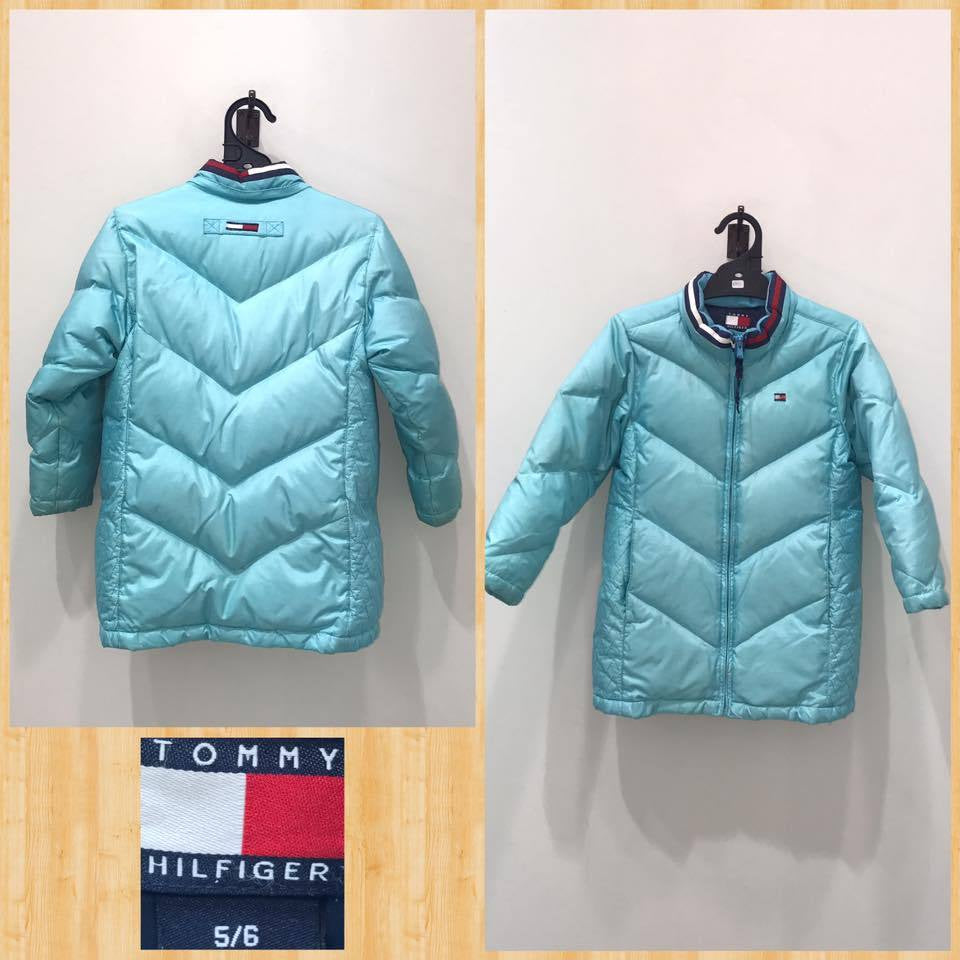 Kids Sz 5 - 6yo Tommy Hilfiger Padded Zip-Up Jacket