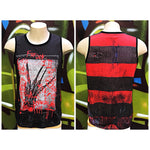 Adults M A Nightmare On Elm Street Muscle Tank Top