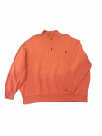 Adults 2XL Polo Button Crewneck Jersey