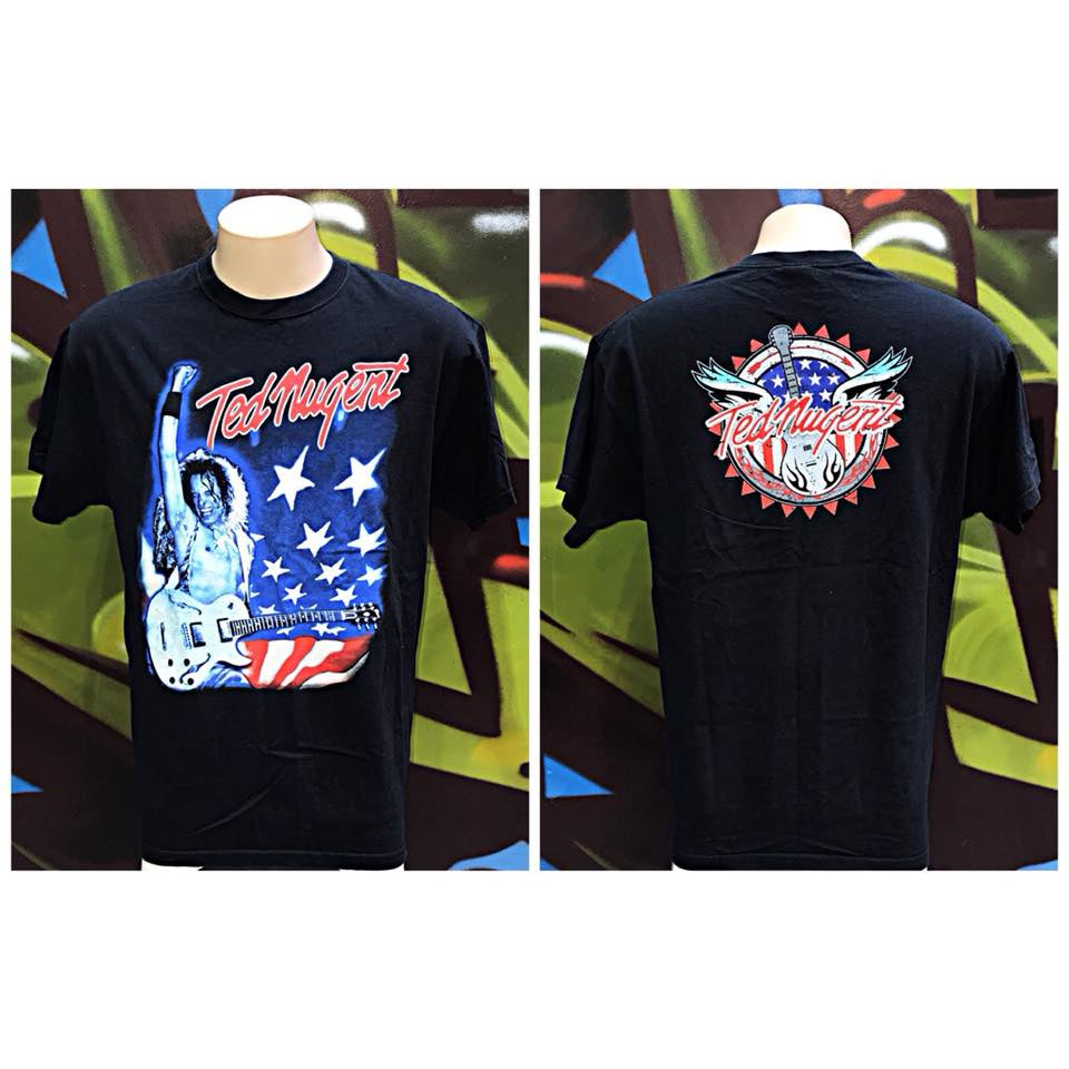 Adults XL Vintage Ted Nugent T - Shirt