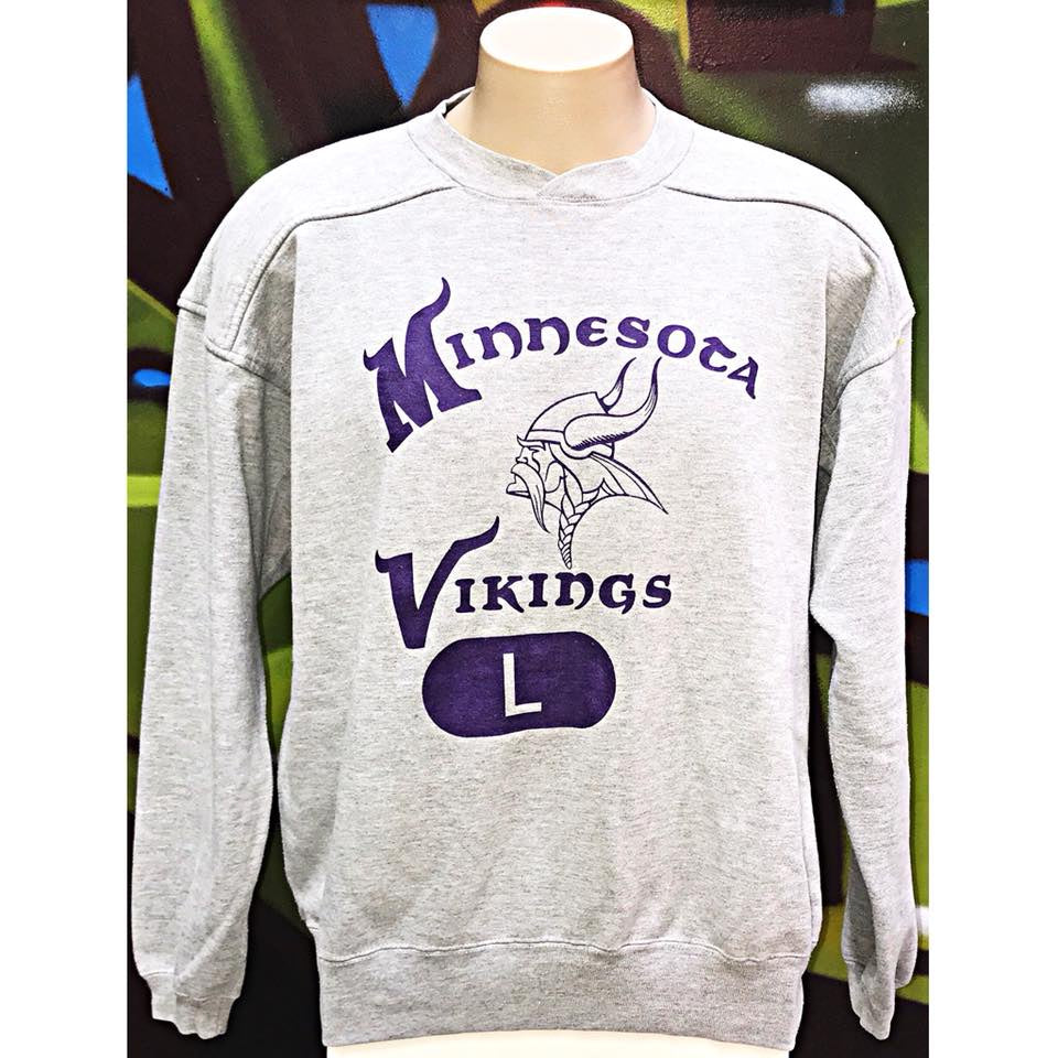 Adults L Starter Minnesota Vikings Sweatshirt