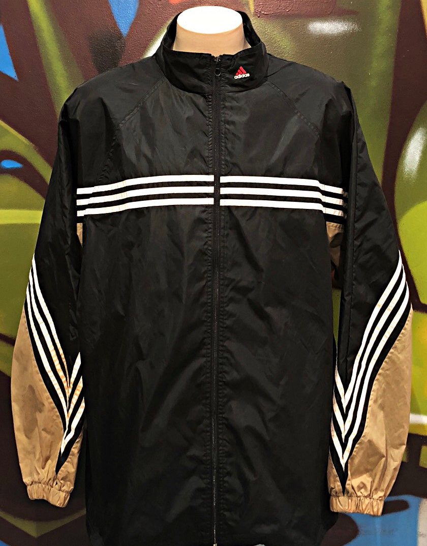 Adults 2XL Vintage Adidas Zip - Up Jacket