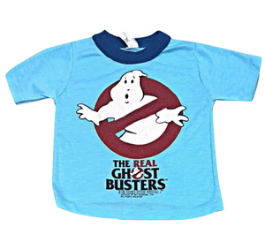 Kids Size 4 - 5 Vintage 80's The Real Ghostbusters TV T-Shirt
