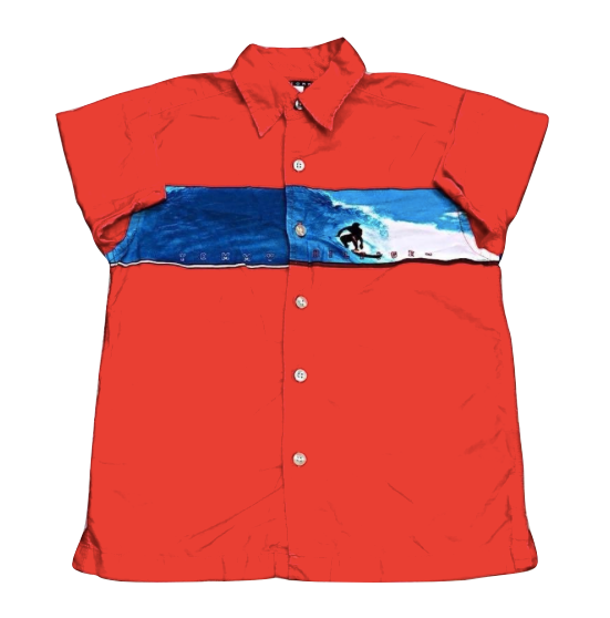 Kids Size 6 Tommy Hilfiger Surf Button - Down Shirt