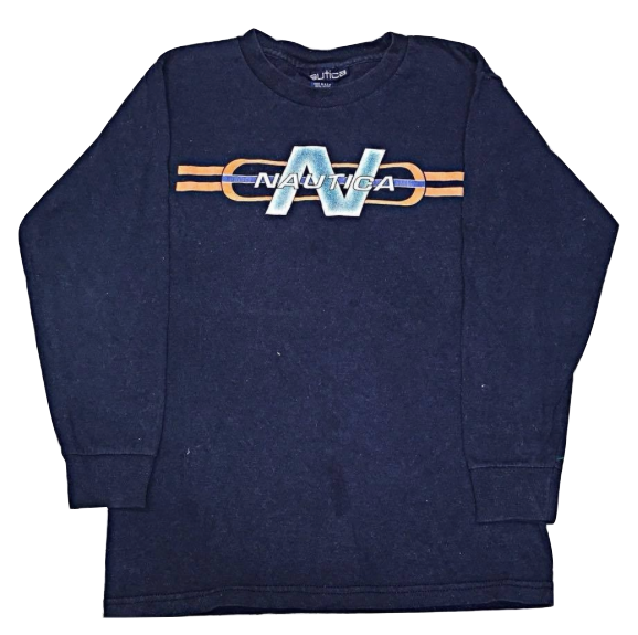 Kids Size 6 Nautica Long Sleeve Shirt
