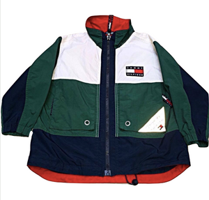 f4b8b0098 Kids Size 6 Vintage 90's Tommy Hilfiger Jacket Sailing Gear Windbreaker