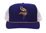 Minnesota Vikings Adjustable Mesh Back Truckers Cap
