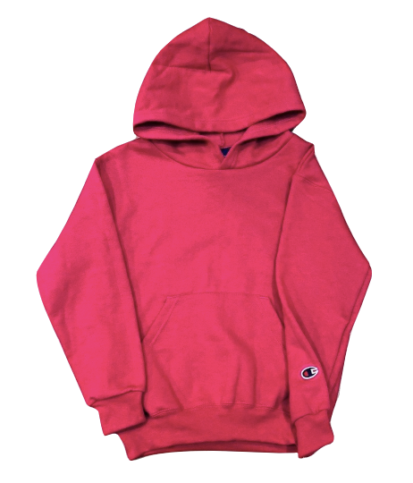 **BRAND NEW** Youth Size 8 - 10  Pink Girl's Champion Pullover Hoodie