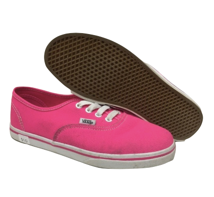 Van Pink Canvas Shoes