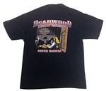Vintage 2006 Harley Davidson Deadwood South Dakota T - Shirt