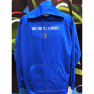 Adults 2XL Middle Tennessee University Blue Raiders Hoodie