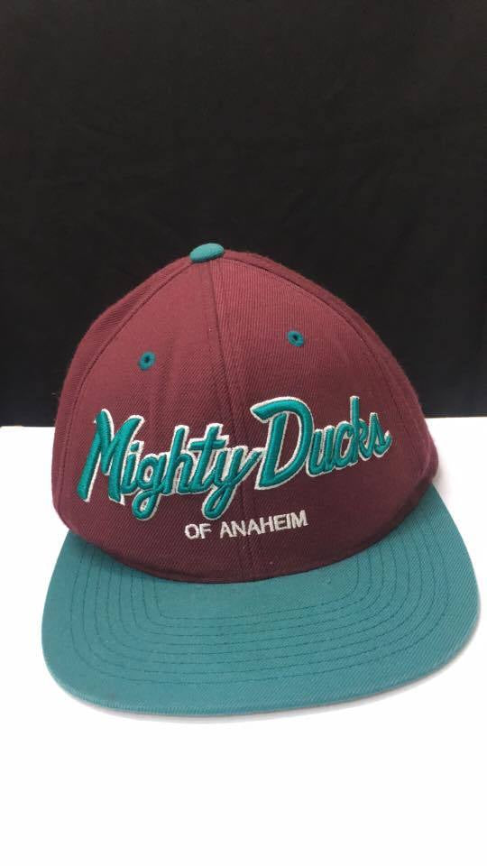 Vintage Mitchell & Ness NHL Mighty Ducks Supporters Cap