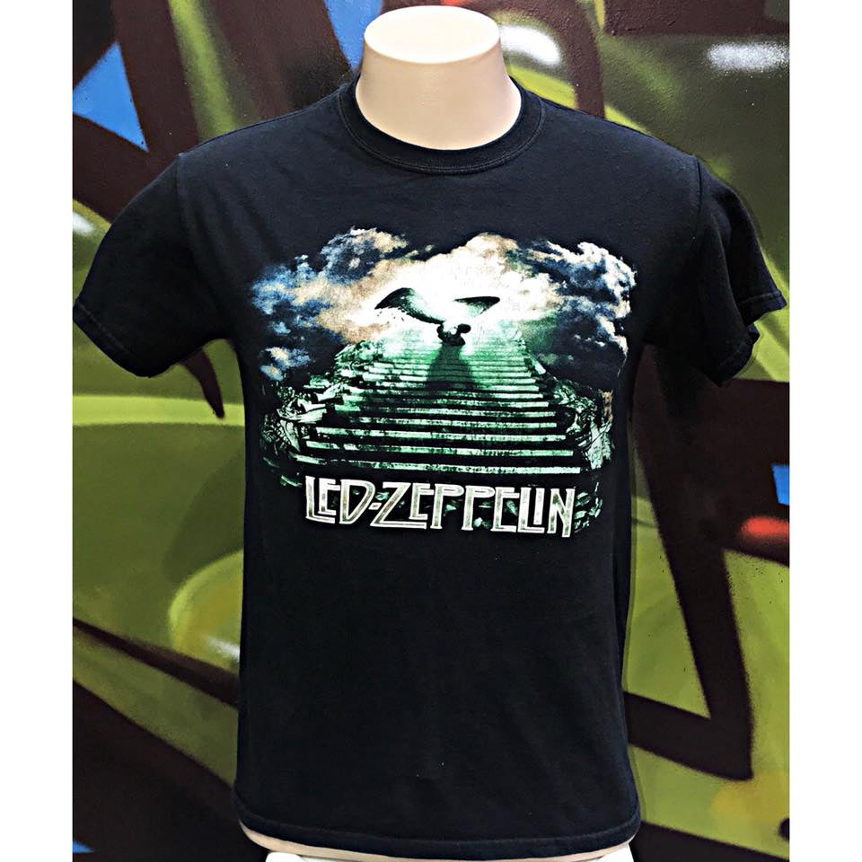 Adults S LED-ZEPPELIN Stairway To Heaven T - Shirt