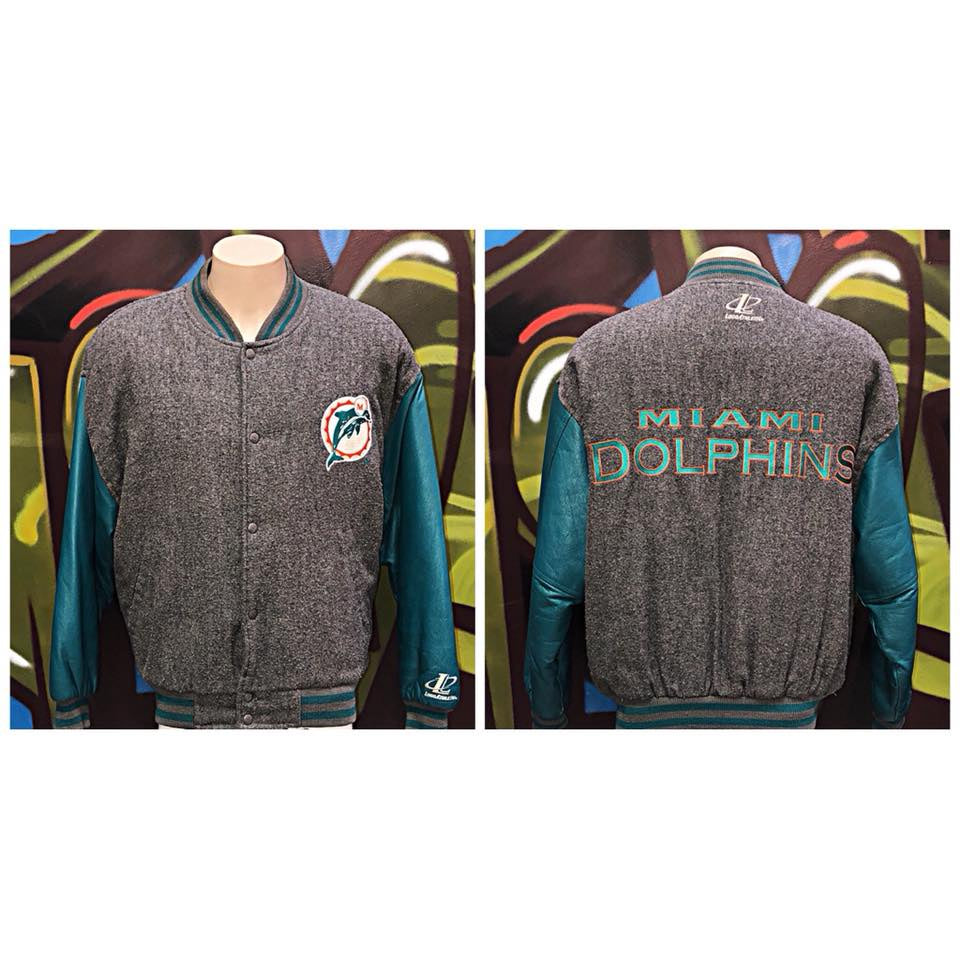 Adults L Logo Athletic NFL Miami Dolphins