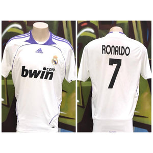 newest collection e962a dacda Adults L Adidas Manchester United Soccer ⚽️ Bwin Com Cristiano Ronaldo #7  Jersey