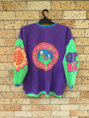 Vtg 80s XTASY Men's Sz roomy XL sweater 🔥