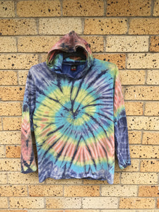 Youth Sz L tie dyed hoodie