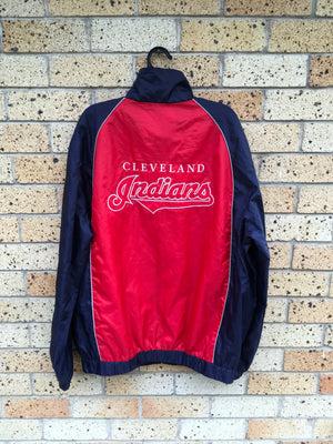 Men's Sz XL Cleveland Indians jacket