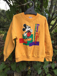 Vtg 80s Sz 4 Euro Disney sweater 😍