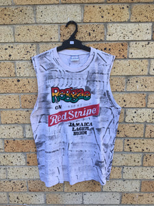Men's Sz L Jamaica beer singlet