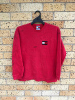 Men's Sz S Tommy crewneck