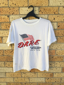 Men's Sz L Dare tee. Few marks $50 🔥