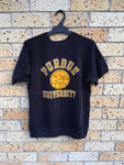 Vtg Youth Sz XL Champion Purdue University sweater tee