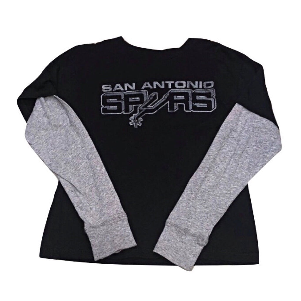 Youth S Spurs Long Sleeve