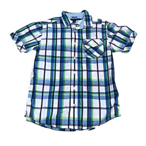 Youth M Tommy Hilfiger Tyler S/S Plaid Shirt
