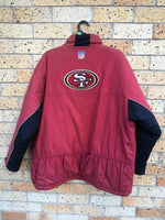 Vtg Men's Sz 2XL Reebok 49ers jacket 😍