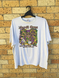 Men's Sz 2XL Alabama Mardi Gras tee $50🔥