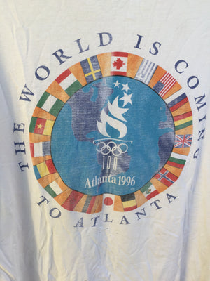 Vtg Men's Sz XL Atlanta Olympics tee 🔥