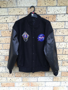 Men's Sz L NASA bomber jacket $95 🔥