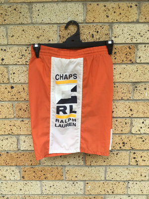 Men's Sz XL orange Chaps RL shorts 🔥