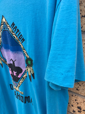 Men's Sz XL Vtg Cherokee Nation tee