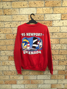 Vtg Men's Sz L Newport Ensenada sweater 🔥