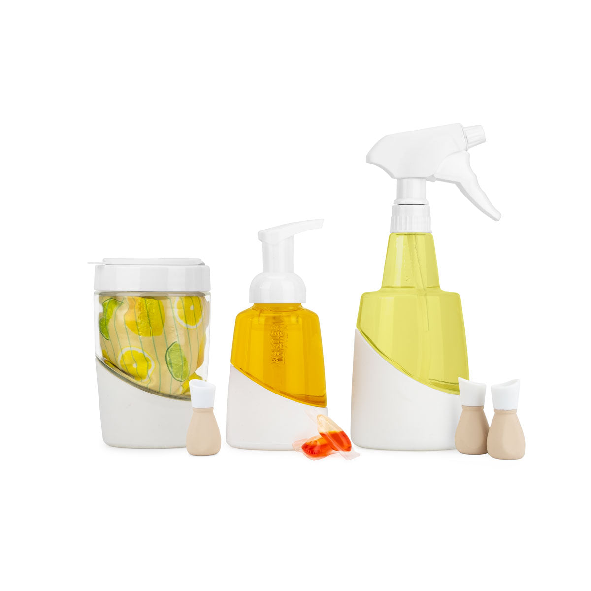 Sustainable Cleaning Set + Eco Soap Refills for a Year Long