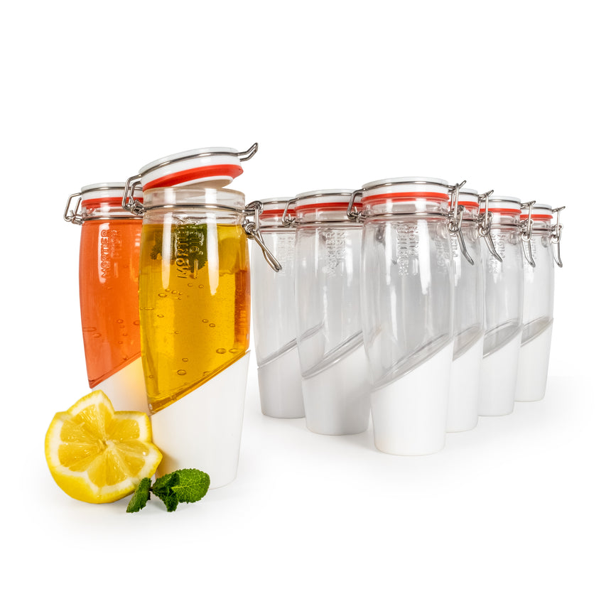 Kimchi - 2L Glass Fermentation Jar with Ceramic Fermentation Weight