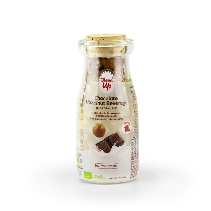 8x Blend Up Chocolate & Hazelnut Milk - Nut & Grain Mix